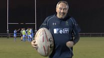 The rugby club reaching out to people with dementia