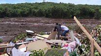 """Le Brésil endeuillé par la """"pire catastrophe minière"""" de son histoire"""