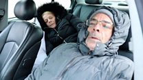 'Sleeping in our car for nine weeks'