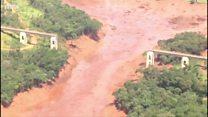 Colapso de la presa Brumadinho en Brasil