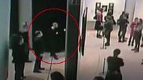 Brazen art theft from Russian gallery