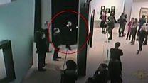 Brazen art theft in Russia