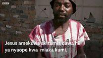 Jinsi mtumiaji wa dawa za kulevya Jesus alivyonusurika janga la dawa za kulevya nchini Afrika Kusini.