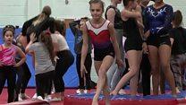 Deaf gymnast makes British squad