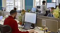 ما معنى عبارة Traditional office؟
