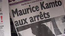 Au Cameroun, l'opposant Kamto sous les verrous