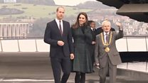 William and Kate officially open V&A Dundee