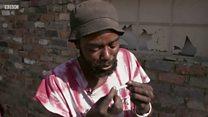 南アにまん延する違法薬物「ニャオピ」 その脅威を取材