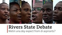 Empowerment and peace na im we want #BBCGovDebate - Residents