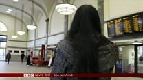 सऊदी छोड़ भागती महिलाएं