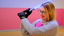 Lightsaber fights 'amazing spectacle'