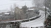 How is Wales faring in the wintry weather?