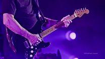 چوب حراج بر گیتارهایی که 50 سال برای پینگ فلوید نواختند