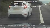 Dealer flings drugs during 100mph chase