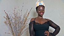 The artist fighting HIV with a crown
