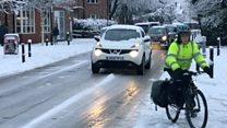 Heavy snowfall causes travel chaos