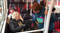 'Chatty bus' tackles loneliness