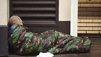 How many people are sleeping rough?