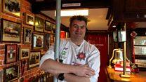 'I turned my shed into a fire station pub'