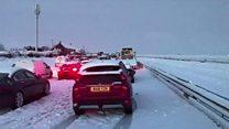'Carnage' on Cornwall roads