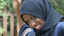 The Somali comedian 'killing stereotypes'