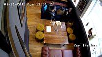 Women caught putting hair in pub pizza