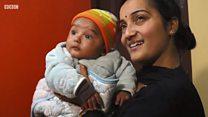 Bayi pengidap penyakit langka: Tidur lelap yang bisa mengancam nyawa