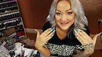 'Fingernails are my canvas'