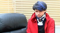 Attacked autistic boy 'let down' by police