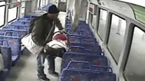 Baby accidentally left on train