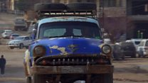The 1950s classic car turning heads in Syria