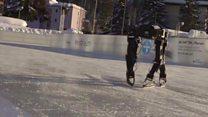 Робот који је сам научио да клиза