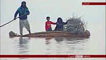 باز شدن آب هیرمند به سوی ایران
