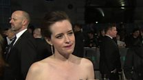 Claire Foy on her Bafta nominated role