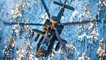 Arctic Circle first for British Army Apaches