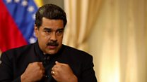 US 'warmongering' in Venezuela - Maduro
