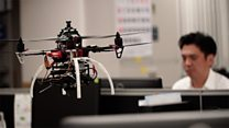 Using drones to battle overwork in Japan