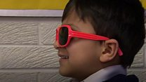 Glasses trial sets sights on primary pupils