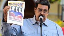 Maduro yagirije intagondwa z'aba ny'Amerika kubangamira Venezuela