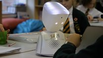 'The robot that helps me go to school'