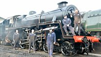 The men who rebuilt a steam engine