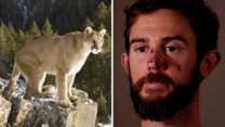 Man fights mountain lion... and wins