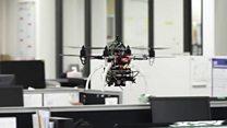 İşçilərin ofisdən vaxtında getməsinə robot nəzarət edir