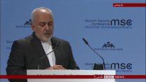 انتقاد تند وزیر خارجه ایران از آمریکا و سه قدرت اروپایی