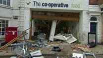 Co-op ram raid thieves fail to open ATM
