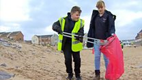 Plastic waste 'makes me feel awful'