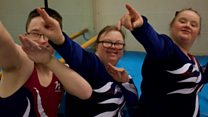 Gymnasts ready for Special Olympics