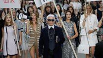 Fashion designer Lagerfeld dies aged 85