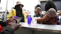 Cashless music festivals in South Africa