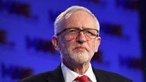 Corbyn 'regrets' Labour MPs' resignations